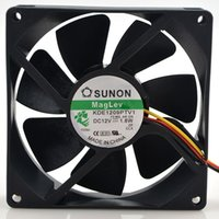 Wholesale Chassis Cooling Fan - Original SUNON KDE1209PTV1 9025 92*92*25mm DC 12V 1.8W 9CM chassis power supply cooling fan