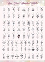 Wholesale Bead Necklace Bulk - New 75 styles Love pearl cages pendants Opening Beads lockets charms For necklaces DIY Jewelry craft Making small wholesale bulk lots
