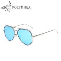 Wholesale Brand Polarized Women Sunglasses - Fashion Brand Polarized Women Sunglasses Classic Brand Designer Sunglasses Men Driving Eyewear Pilot Sunglasses HD Aluminum Driving Luxury S