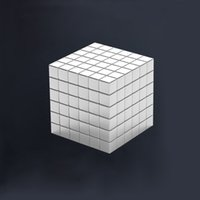 Wholesale N35 Magnets - 216pcs Cube Magnetic Balls 6*6*6 3mm 4mm 5mm Size Grade N35 Neodymium Cube Magico Magnet Puzzle Educational Toy Metaballs gifts OTH626