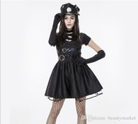Wholesale Erotic Lingerie Female - New Police Fancy Halloween Costume Sexy Cop Outfit Woman Cosplay Sexy Erotic Lingerie Police Costumes PS14249
