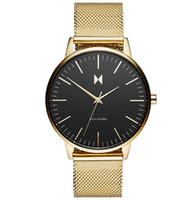 Wholesale Wrist Watch Love - Top Men Women Loves Mesh Gold Quartz Sport Watches Brand Army Military watch Quartz-watch Clock Waterproof Wrist Men's Relogio Masculino