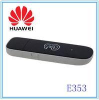 Wholesale Mobile Broadband Free - Free shipping Huawei E353 Unlocked 21.6 Mbps HSPA+Mobile Broadband 3G Modem Dongle