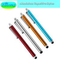 Wholesale Asus Pad Pen - Wholesale- 4PCS x Capacitive Stylus for Asus ZenPad M700KL M700C Z370C MeMO Pad 7 LTE Fonepad 7 FE375CL Styli Pen Touch Screen Tablet Pens