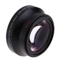 Wholesale Rebel T3i Slr - 67mm Digital High Definition 0.43X Super Wide Angle Lens & Macro for Canon Rebel T5i T4i T3i 18-135mm for Nikon DSLR Camera