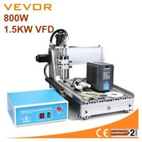 Wholesale Cnc Router Ball Screw - Updated New 3040Z 3 Axis CNC Router Engraver Machine with 800W Water Cooled Spindel Motor PCB's Routing & Drilling with 1605 Ball Screw