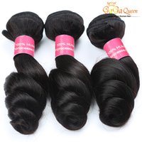 Wholesale Hot Products Colors - Virgin Peruvian Loose Wave Hair Weaves Mink Human Weft Loose Wavy Hair Extension 7A Peruvian Virgin Remy Human Hair Weave Hot Beauty Product