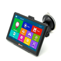 Wholesale China Car Player - Junsun D100 7 inch HD Car GPS Navigation FM Win CE 6.0 256MB  8GB GPS Navigator Multi-media Player with Free Pre-installed Map