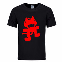 Sommer Berühmte Film Coole Tattoo Monstercat druck T-shirt Baumwolle Casual lustige Top Tees Camisas Kurzarm