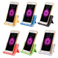 Wholesale tablet mount stand holder cradle - Hot Portable Adjust Angle Stand Cradle Holder Flexible Desk Phone holder Support Bracket Mount for Phone Tablet
