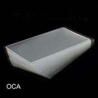 optische touchscreen großhandel-1000 STÜCKE 250um Dicken OCA Optischen Klaren Kleber Aufkleber Für iPhone 5 5 s 6 7 8 Plus X LCD Touchscreen Außenglas