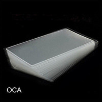Wholesale Oca Optical - 300PCS 250um Thick OCA Optical Clear Adhesive Glue Sticker For iPhone 4 4s 5 5s 5c LCD Touch Screen Outer Glass