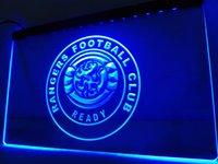 Wholesale Light Football Neon Signs - LD251b- Rangers Football Club LED Neon Light Sign