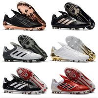 Wholesale Cheap Soft Fabric - Adidas Originals 2018 Copa 17.1 FG NMen's Indoor Soccer Shoes Cheap Genuine Leather Soccer Cleats Best Quality Football Shoes