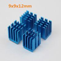 Wholesale Ram Graphics Card - Wholesale- 10PCS Radiator Aluminum Heat sink 9 x 9 x 12MM Chipset RAM Heatsink Cooler