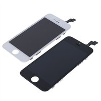 Wholesale Iphone5 Screen Replacement Wholesale - OriginaL Quality Lcd Replacement For iPhone5 5C 5S Lcd 100% OEM Touch Screen Panels Display Digitizer Assembly White Black With Free Ship