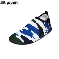Wholesale Animal Skin Shoes - Wholesale-New Women's Men's Flats Beach Sandals Swimming Skin Shoe Barefoot Mixed Colors Fitness Yoga shoes Comfort Breathable Shoes 084
