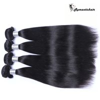 Wholesale Machine Attachments - Virgin Brazilian Hair Malaysian Peruvian Mongolian Cambodian Indian Unprocessed Straight Human Hair Bundles Best Quality Wefts extensions
