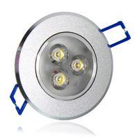 Wholesale heat sinks aluminum - LED Ceiling Light Downlight spotlights 3W 6W 9W Ceiling lamp AC85-265V Aluminum Heat Sink convenience lamp led light