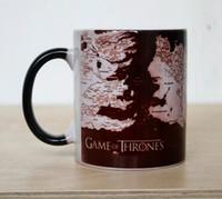 jeux de festival achat en gros de-Tasse magique Game Of Thrones Tasse d'originalité Tasse de résistance à hautes températures de changement avec la poignée pour le cadeau de festival 13yo R