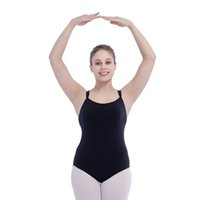 Wholesale Ladies Camisoles Colors - Cotton Lycra Double Straps Crisscross Back Camisole Leotard for Girls Ballet Dancing and Ladies Bodysuit Full Sizes 16 Colors Available