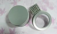 neodym magnete bälle großhandel-216pcs 5mm magische Magnetkugeln magnetischer DIY Kugel-Kugel-Neodym-Würfel mit dem Geschenk der Metallkasten Kinder