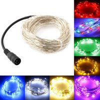 LED Starry String Lights Fairy Micro LEDs Kupferdraht Akku für Party Weihnachten Hochzeit Lichter Strip Stage Dekoration