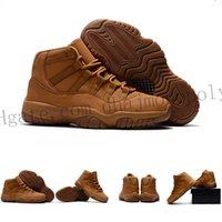 Wholesale Jump Canvas Shoes - Retro Top Quality Wholesale Cheap NEW Retro Jump man 11 mens basketball shoes Sports trainers running shoes for men designer Size 8.0-13