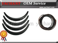 Wholesale Car Accessories ABS mm mm mm Front Rear Fender Flare Wheel Arch with Rubber Sealing Strip Fit For Universal Model