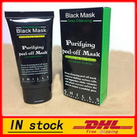 Wholesale Mask Mix - ( Dropping Shipping ) - SHILLS Deep Cleansing Black Mask Pore Cleaner 50ml Purifying Peel-off Mask Blackhead Facial Mask