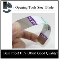 Wholesale Iphone Repair Retail - Spudger Soft Thin Style Repair Pry Mobile Computer Screen Open Opening Tools Steel Blade For iPhone for iPad with retail box