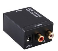 Digital Adaptador Optic Koaxial RCA Toslink Signal zum analogen Audio Converter Adapter Kabel schnell