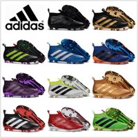 Wholesale Cheap Hot Shoes Online - 2017 Adidas Shoes Ace16+ Purecontrol FG AG AQ3805 S80591 Cheap Online Hot-sell Soccer Shoes Football Sneakers Soccer Cleats Soccer Boots