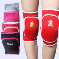 Vente en gros- 3-15Y Enfant Kids Boy Girl Knee Pad Dance Jeux de formation Cotton Sports Knee Pad