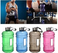Wholesale Sports Jug Wholesale - Large Capacity 2.2 L Half Gallon Gym Workout Sport Bottle Drinking Fitness Jug Water Sport Drinking Bottle