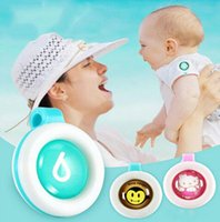 Wholesale Wholesalers For Baby Mosquito - Hot Anti-mosquito Button Cute Animal Cartoon Mosquito Repellent Clip for Baby Buckle Non-toxic Mosquito Repellent Buckle Pest by DHL free