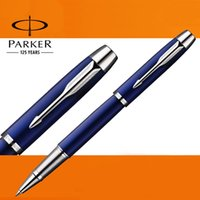 Wholesale Executive Rollerball Pens - Full Metal PARKER IM serie roller ball pen Business Executive Parker rollerball Pens as Luxury gift Writing Office