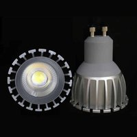 Купить Dc 12v Mr16 Led-GU10 MR16 СИД COB Прожектор Dimmable7w Пятно света Лампа большой мощности AC DC Mr16 12V 90-290V 60 Угол CRI 85 CE UL