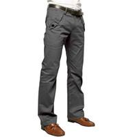 Wholesale Wholesale Jean Prices - Wholesale- 2017 Men Skinny Casual pencil jean Leisure Pants Slacks Trousers Sweatpants Factory Price