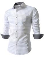Wholesale Strip Blouse - Wholesale- Blanket Strip shirts men's Dress Shirt Business Blouse shirt in cage Camisas Social office Camisas Camiseta Masculinas Shirt HY