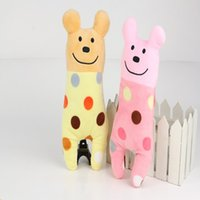 Pet Supplies Toy Bear Speckle Cor de boa qualidade Lovely Plush Small Scale Light Cartoon Seja profundamente amado pelas massas