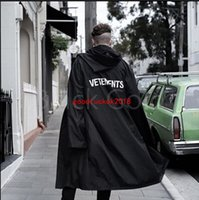 Wholesale Rain Jackets Sale - Vetements hot sale 2017 new # 16SS OVERSIZED RAIN COAT jacket waterproof raincoat