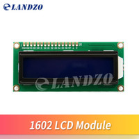 Wholesale Long lifespan LCD1602 module Blue screen LCD1602 LCD monitor V blue screen and white code for arduino