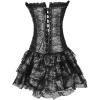 Wholesale Women Sexy Figures - Sexy Palace Corset The new 2017 elegant palace body-hugging dress son three-piece corset sexy garment Good figure for you Elegant dance