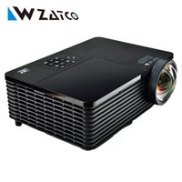 Wholesale Outdoor Education - Wholesale-Best 300inch 6000ANSI ultra short throw HDMI USB RJ45 DLP 3D Projector Daylight Outdoor 1080P for Business Advertise Education