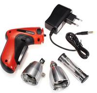 klom elektrische gewehr großhandel-Hohe Qualität Neue Elektrische Schnurlose KLOM Erweiterte Verschluss-auswahl Pistole Auto Verschluss-auswahl Set Bauschlosserwerkzeuge