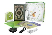 Wholesale Quran Reading Free - Wholesale-free shipping 4G Muslim digital Pen Quran reader best gift Quran reading pen mp3 now more than 24 reciters and translations