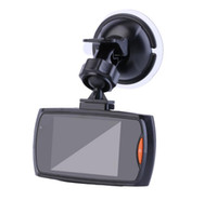 Wholesale car android rearview online - 50pcs G30 quot Car Dvr Degree Wide Angle Full HD P Car Camera Recorder Registrator Night Vision G Sensor Dash Cam