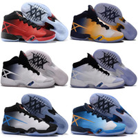 Wholesale Top Quality Sneakers China - 2016 Cheap Sale China 30 Retro Men's Basketball Shoes Mens Top quality Star 30s XXX Westbrook Airs Sports Training Sneakers US Size 7-12