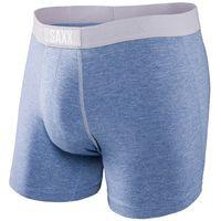 Wholesale Mens Stretch Briefs - SAXX VIBE Mens Soft Stretch Viscose Underwear Modern Fit Everyday Boxer Brief Sky Heather